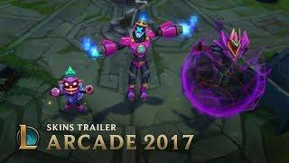 Game | Villains Rule Arcade 2017 Skins Trailer League of Legends | Villains Rule Arcade 2017 Skins Trailer League of Legends