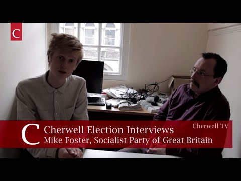 Socialist Mike Foster calls for revolution