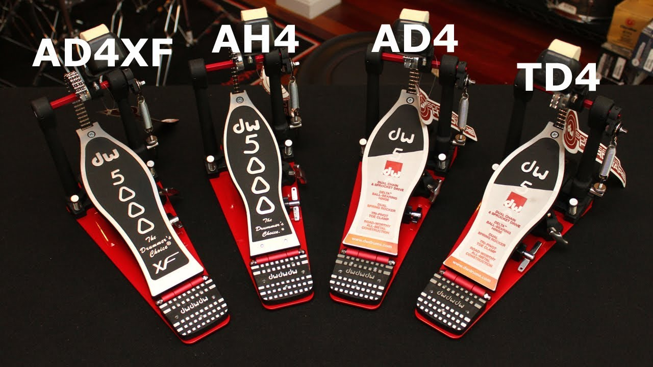 DW 5000 Pedal Features Explained: TD4, AD4, AH4 & AD4XF