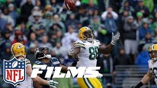 #1 Russell Wilson Leads Seahawks Past Packers | NFL Films | Top 10 Playoff Finishes