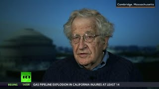 Noam Chomsky: Neoliberal assault led to significant decline in democracy