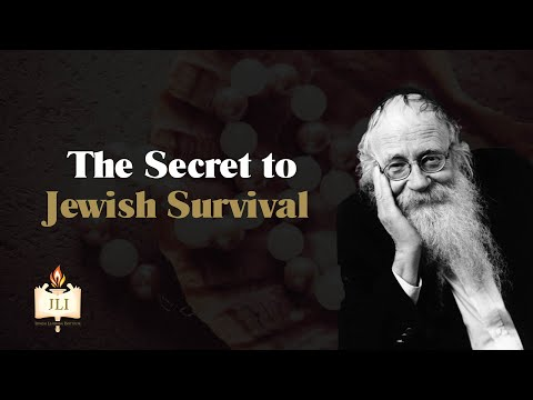 How To Ensure A Successful Future   Rabbi Adin Even-Israel Steinsaltz