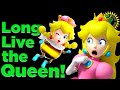Game Theory: The END of Princess Peach! (New Super Mario Bros U Deluxe Peachette / Bowsette)
