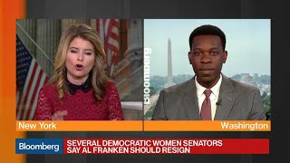 Democratic Women Senators Call for Franken to Resign