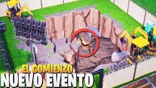 *NUEVO* EVENTO ESTA COMENZANDO en la EXCAVACION | FORTNITE: Battle Royale