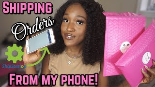 LIFE OF AN ENTREPRENEUR Pt. 3 | HOW TO PACKAGE & SHIP YOUR ORDERS