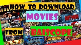 How to download movies from baiscope.