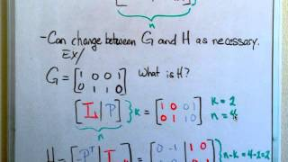 Linear Codes Introduction