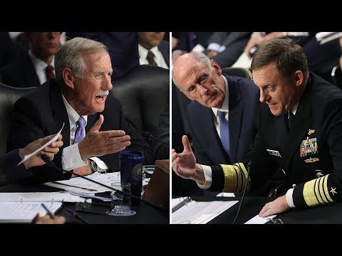 Sen. Angus King Grills Intel Leaders On Whether Trump Tried To Influence Them