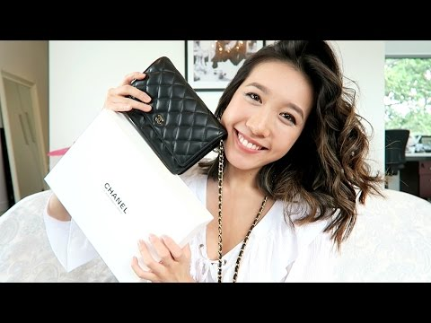 bbd6ef38b7f827 CHANEL WOC UNBOXING   Wallet On Chain - YouTube