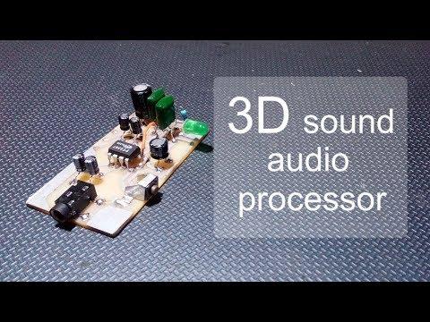 DIY 3D Sound Audio Processor Module - YouTube