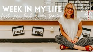 WEEK IN MY TEACHER LIFE | Ep. 6: surprise observations, lesson plans + pj day!