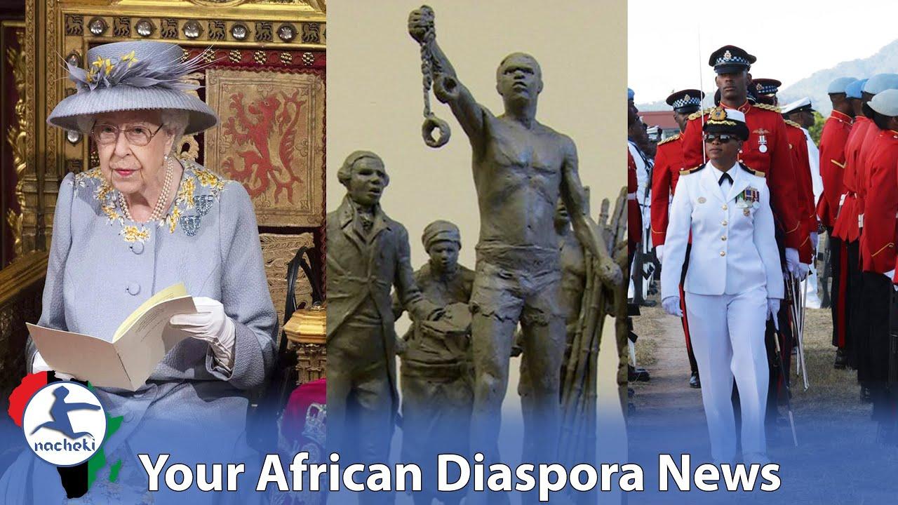 Queen Elizabeth  Barbados Boot, Descendants of Enslaved Africans Can Change Names, Jamaica Boss Lady