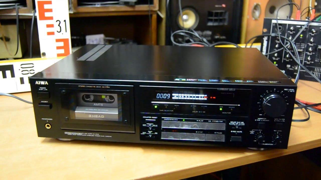 aiwa ad f880 tape deck youtube rh youtube com Lifted F150 2013 F850 Dump