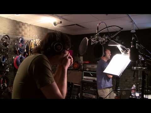Trey Parker & Bill Hader doing South Park voices