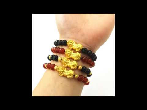 ★FengShui Gold Pixiu Bracelets★