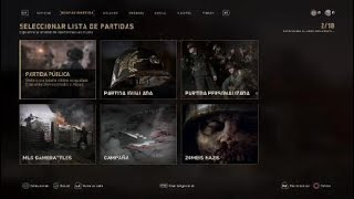 CALL OF DUTY WW2 TUTORIAL COMO JUGAR PANTALLA DIVIDIDA EN ZOMBIES Y MULTI ONLINE Y LOCAL