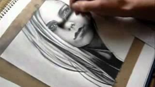 Reylia's AVRIL LAVIGNE speed drawing