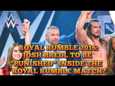 WWE Royal Rumble 2016: Josh Bredl To Debut At WWE Royal Rumble 2016?