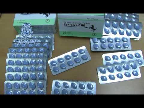 Detenido por distribuir por internet medicamentos para la disfunción eréctil
