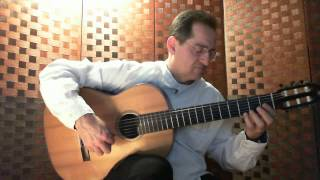 AVE MARIA - Franz Schubert - Tremolo on classical guitar