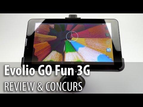 Evolio GO Fun 3G Review & Concurs (Tabletă 3G GPS cu accesorii auto) - Mobilissimo.ro