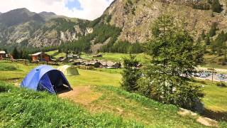 Gran Paradiso National Park - Cogne - Valnontey -  Camping lo Stambecco