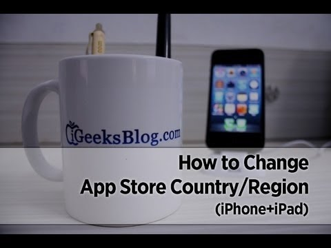 how to change region on iphone how to change app country region in ios 8 on iphone 18635