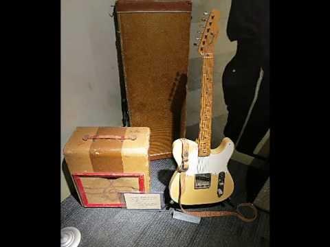 Johhny Cash's Guitars at The Johnny Cash Museum in Nashville, TN
