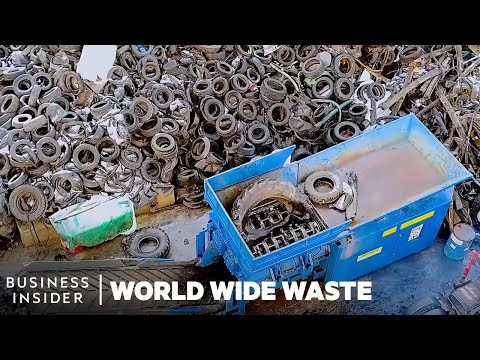 How Old Tires Are Turned Into Electricity   World Wide Waste