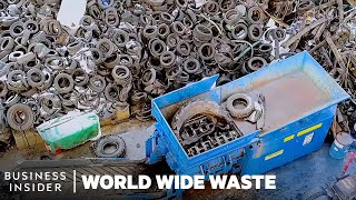 How Old Tires Are Turned Into Electricity | World Wide Waste