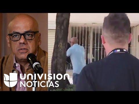 En video: La confrontación de un venezolano al alcalde chavista Jorge Rodríguez en Ciudad de México