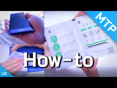 4smarts Liquid Glass Screen Protector - How To Video - MyTrendyPhone