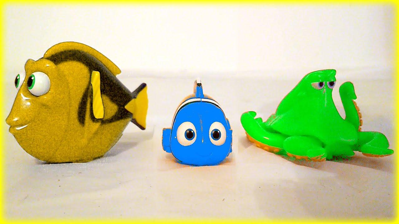 44 Minutes Disney Pixar Finding Dory Marvel Superhero Toys Surprise ...