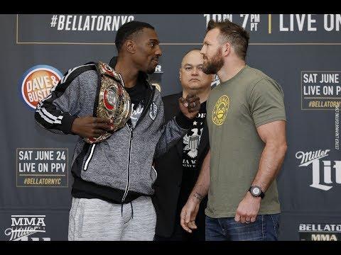 Bellator 180: Phil Davis vs. Ryan Bader Media Day Staredown - MMA Fighting