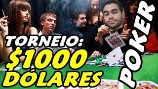 POKER - TORNEIOS DE 1000 DÓLARES!!!!