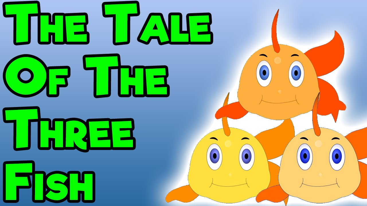 The tale of the three fish short moral stories for kids for Fish short story