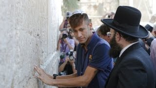 Barcelona visit Israel and Palestine for 'Peace Tour'