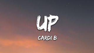 Download Cardi B - Up (Lyrics)