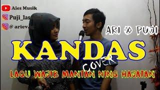 Kandas Evie Tamala Cover By Ari dan Puji Purwokerto Bareng Aies Musik