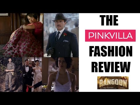 Rangoon Fashion Review - What Kangana Ranaut, Shahid Kapoor & Saif Ali Khan wore - Pinkvilla