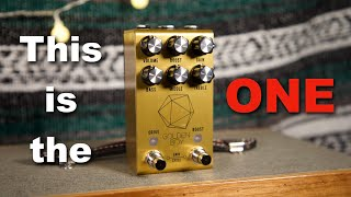 The Last Overdrive Pedal You'll Ever Need! - Jackson Audio Golden Boy Review