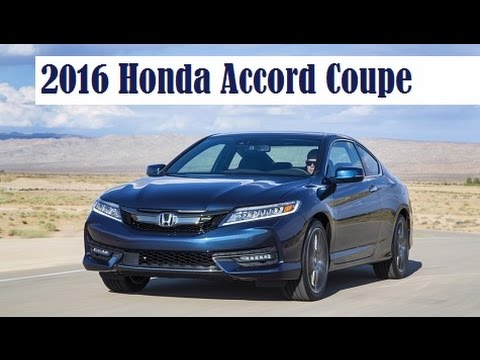 2016 honda accord coupe the updates include a more rigid body and an upgraded chassis youtube. Black Bedroom Furniture Sets. Home Design Ideas