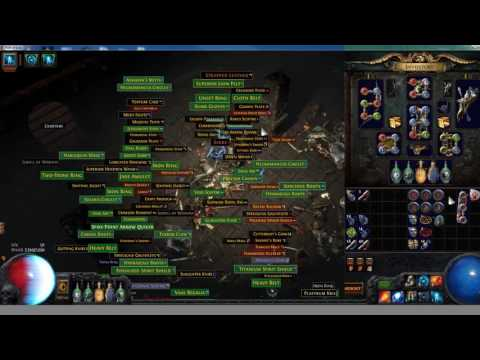 The 6-Boss Farming method for Path of Exile