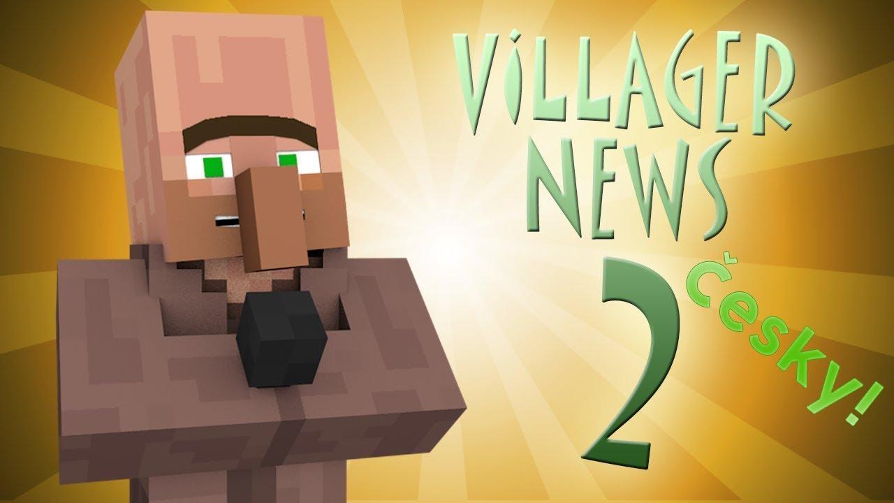 Www 3d Name Animation Wallpaper Com Villager News 2 Minecraft Animace Česk 221 Dabing