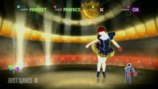 Just Dance 4 | PS3 Gameplay | Emma - Cercavo Amore (Only in Europe)