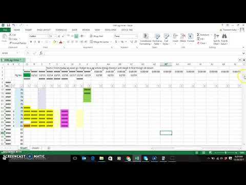 How I organise my Quran Memorization in Excel - YouTube