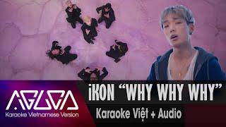 [Karaoke Việt + Audio] WHY WHY WHY - iKON