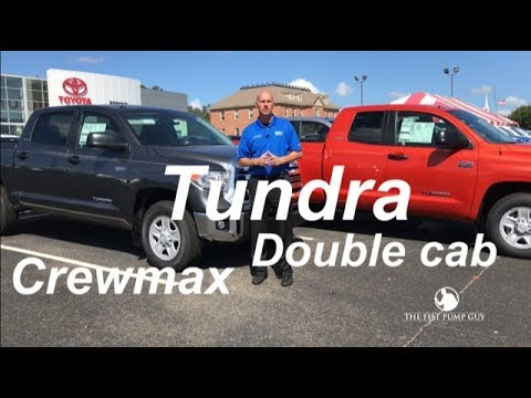 toyota tundra crewmax vs double cab which one do you. Black Bedroom Furniture Sets. Home Design Ideas