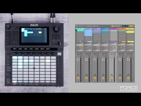 Force Academy   Ableton Project Import Mode